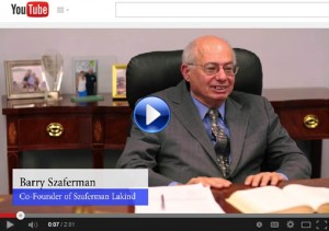 Szaferman Lakind Attorney Inteviews 2014, NJ Business Law Firm, Mercer County Family Attorneys, NJ Personal Injury Lawyers